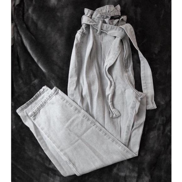Forever 21 Denim - F21 Paperbag Waist Jeans (27)